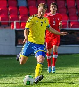 Oscar Hiljemark Sverige