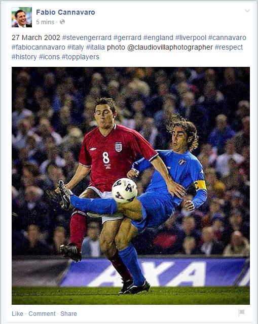 Bild: https://www.facebook.com/cannavaroofficial?fref=ts