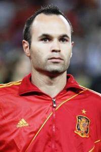 Andrés Iniesta Spanien
