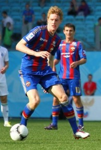 Rasmus Elm CSKA Moskva